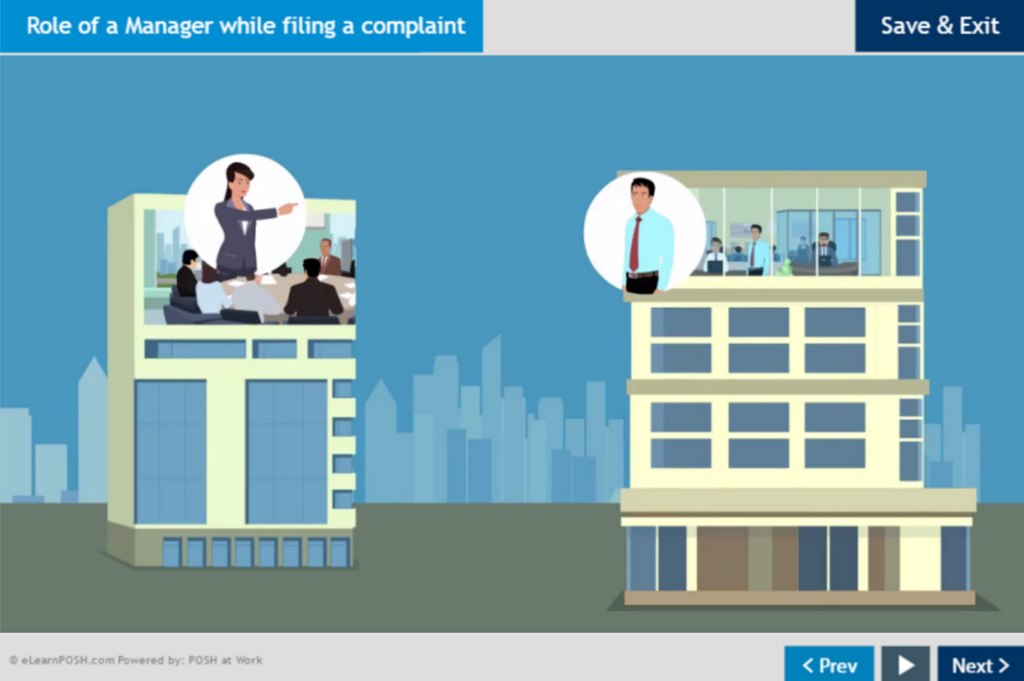 Role of a Manager while filing a compliant